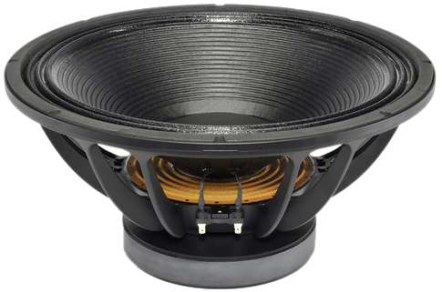 2400 W PMPO 1200 W RMS B/&C Speakers 18TBX100 Woofer